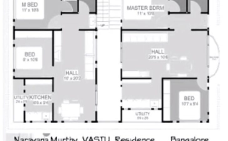East Facing Narayana Murthy Vastu Plan Home