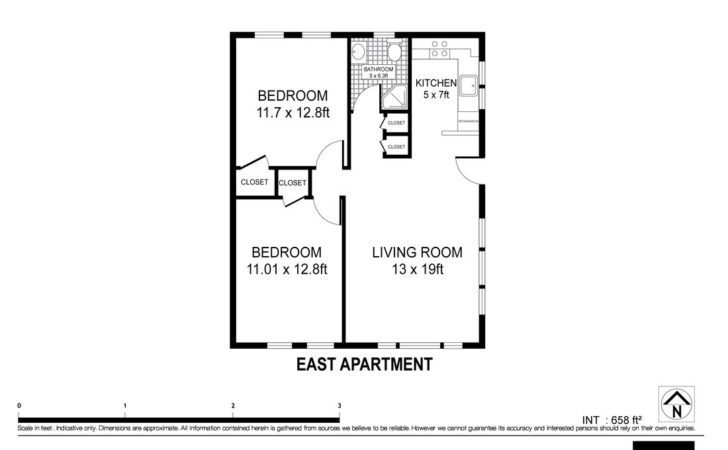 East Floor Plan Montauk Beach Bungalow