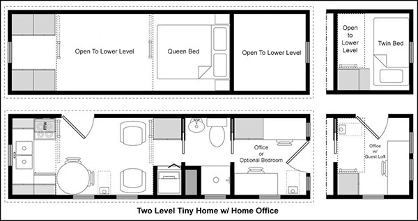 Easy Tiny House Floor Plans Cad Pro