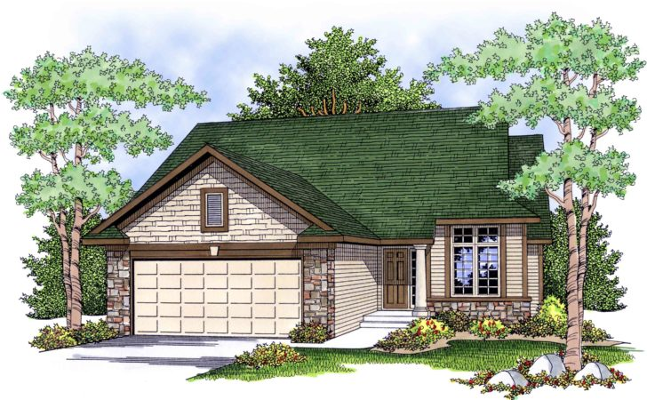 Economical Easy Build Ranch House Plan
