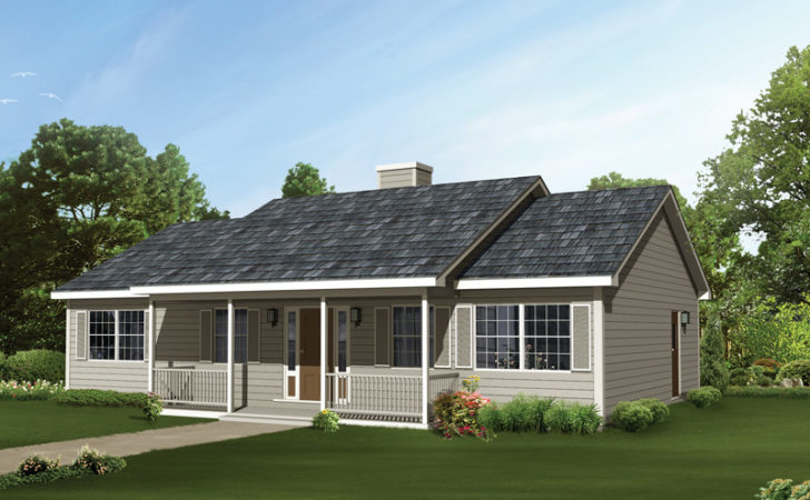 Edgehollow Country Ranch Home Plan House Plans