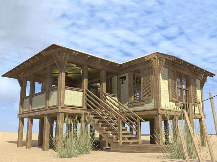 Elevated Coastal Home Plans Homes Floor