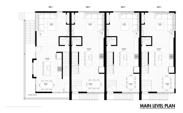 Emerson Rowhouse Meridian Architecture Archdaily
