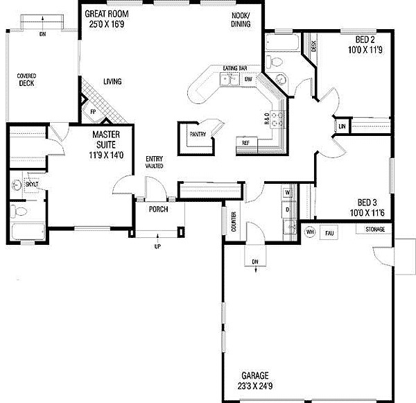 Empty Nester House Plans Smalltowndjs