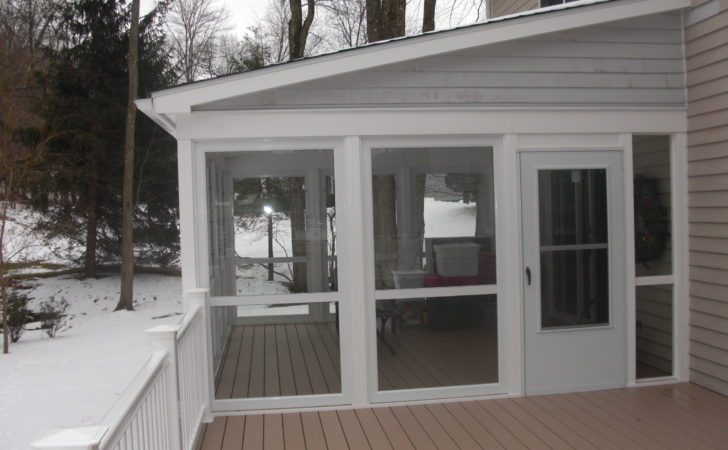Enclose Your Screen Porch Custom Decks Fairfield
