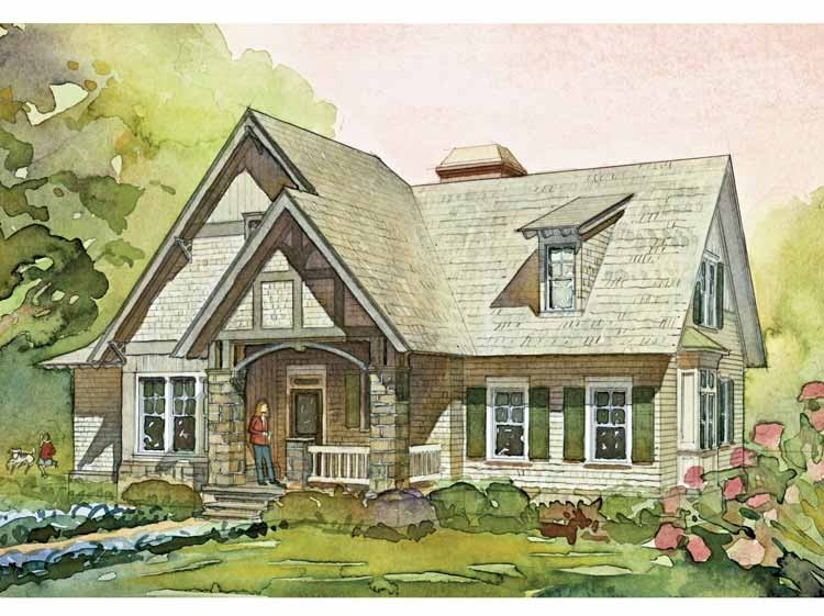 English Cottage House Plans Eplans European