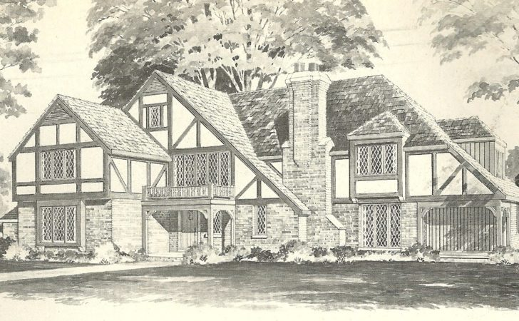English Tudor House Plans Cool