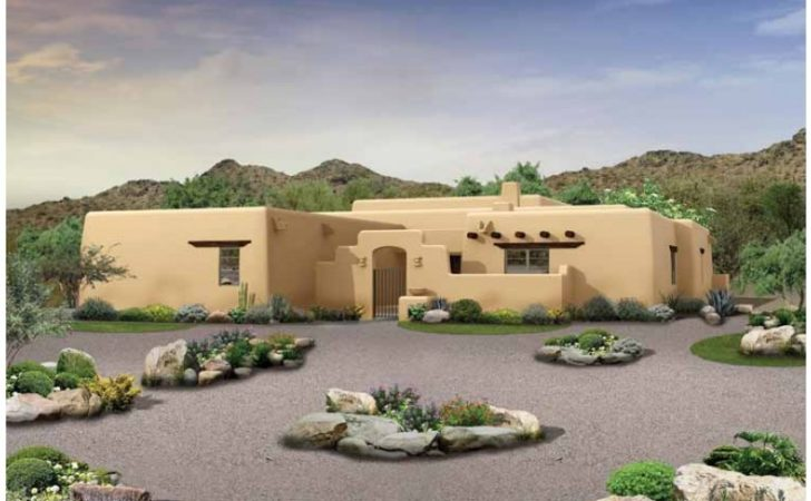 Eplans Adobe House Plan Southwestern Home Square