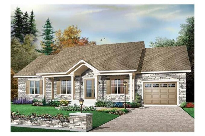 Eplans Bungalow House Plan Charm Square