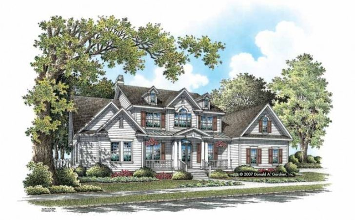 Eplans Bungalow House Plan Country Estate Custom