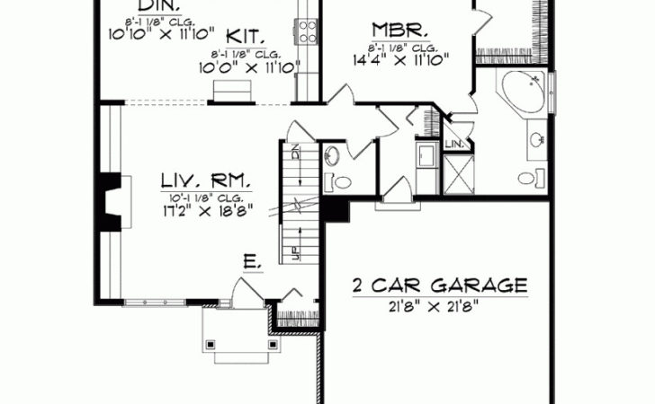Eplans Bungalow House Plan Four Bedrooms Under