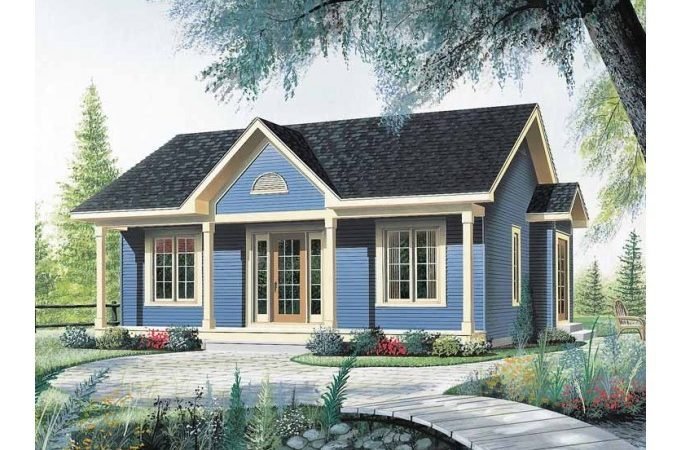 Eplans Bungalow House Plan Nice Little Starter Home