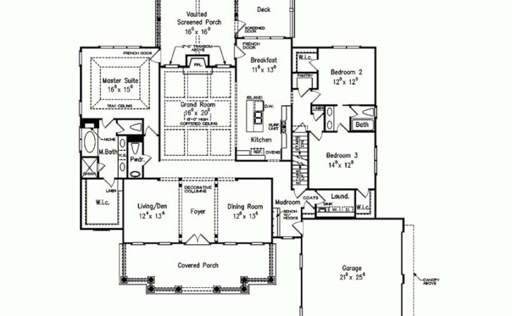 Eplans Cape Cod House Plan Engaging One Story Colonial