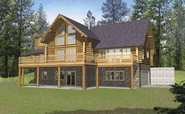 Eplans Chalet House Plan Three Bedroom