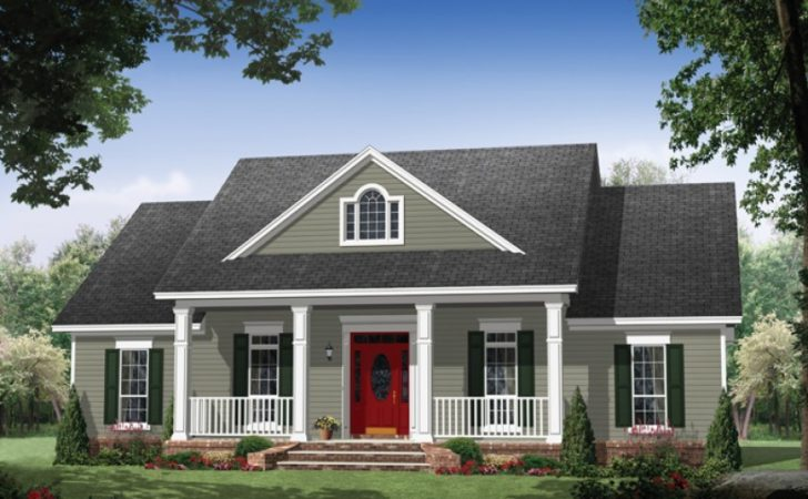 Eplans Colonial House Plan Elegance