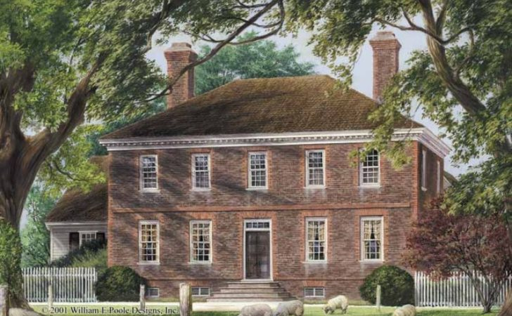 Eplans Colonial House Plan Five Bedroom