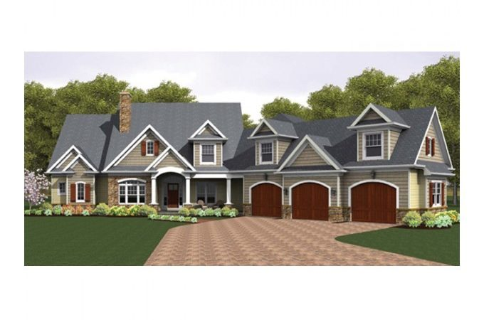 Eplans Colonial House Plan Story Great