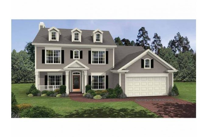 Eplans Colonial House Plan Timeless Elegant Two
