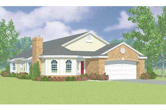 Eplans Cottage House Plan Arch Top Front Windows