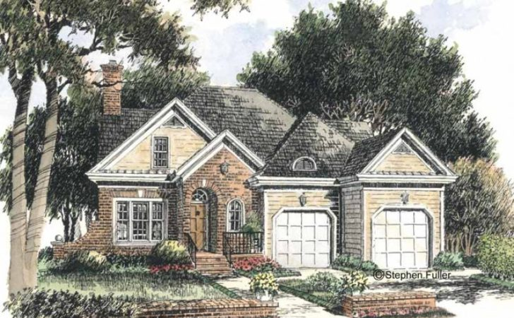 Eplans Cottage House Plan Brick Colonial Style