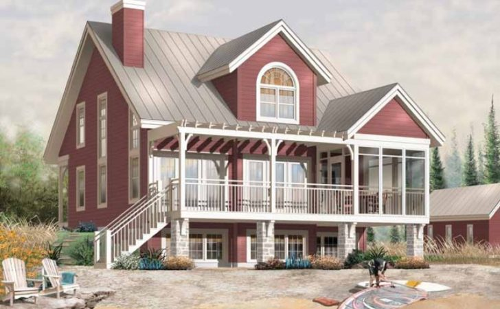 Eplans Cottage House Plan Screened Porch Summer