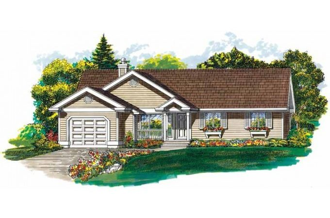 Eplans Country House Plan Compact Economical