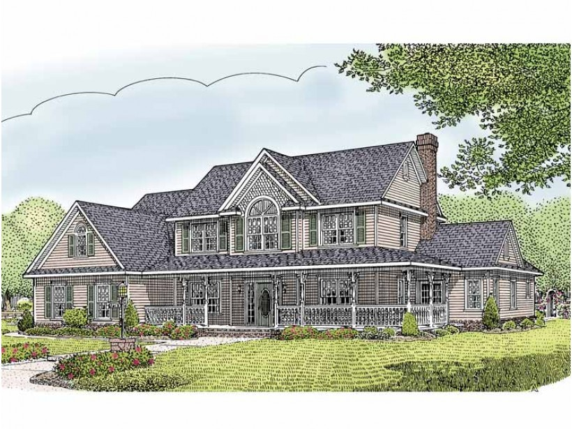 Eplans Country House Plan Five Bedroom