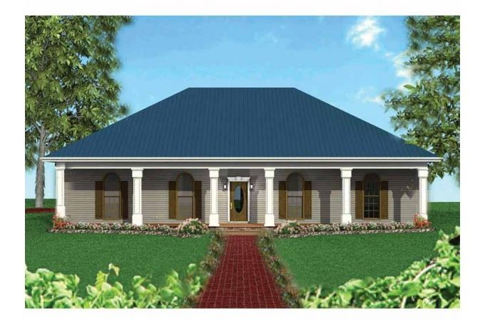 Eplans Country House Plan Large Front Porch