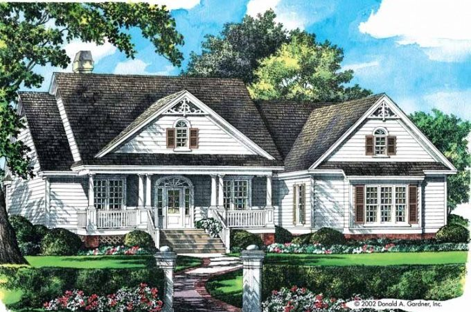 Eplans Country House Plan Old Fashioned Farmhouse