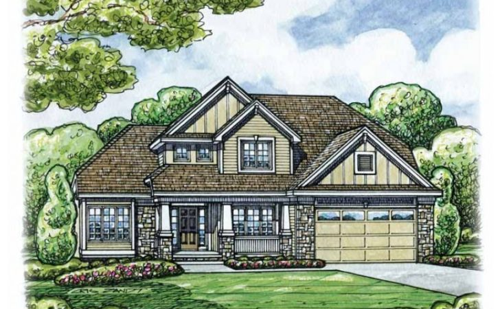 Eplans Craftsman House Plan Four Bedroom Home