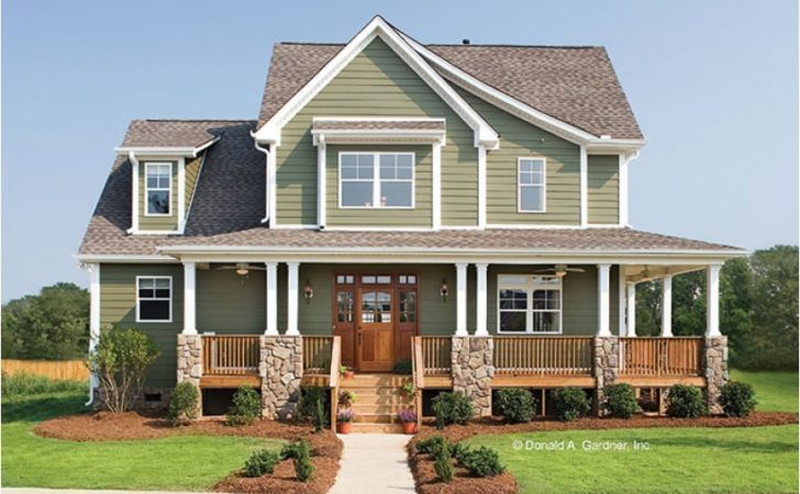 Eplans Craftsman House Plan Glorious Farmhouse