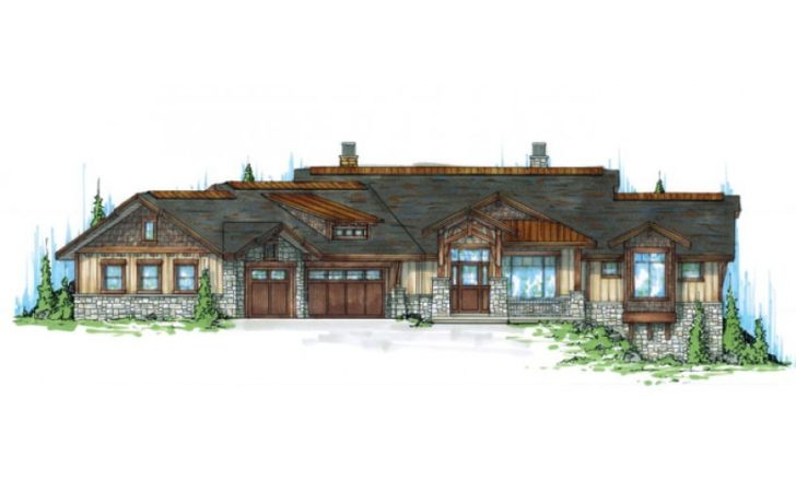 Eplans Craftsman House Plan Mountain Style