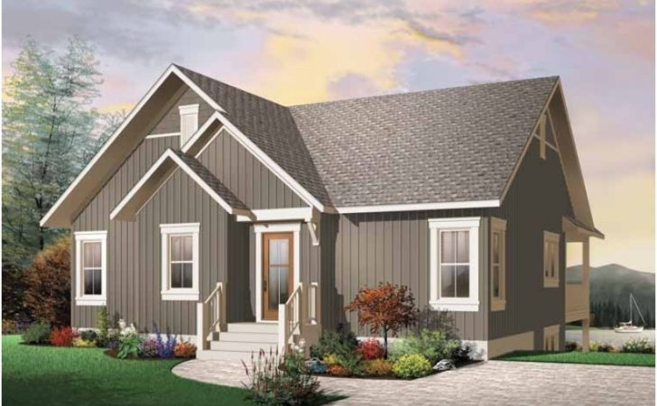 Eplans Craftsman House Plan Two Bedroom