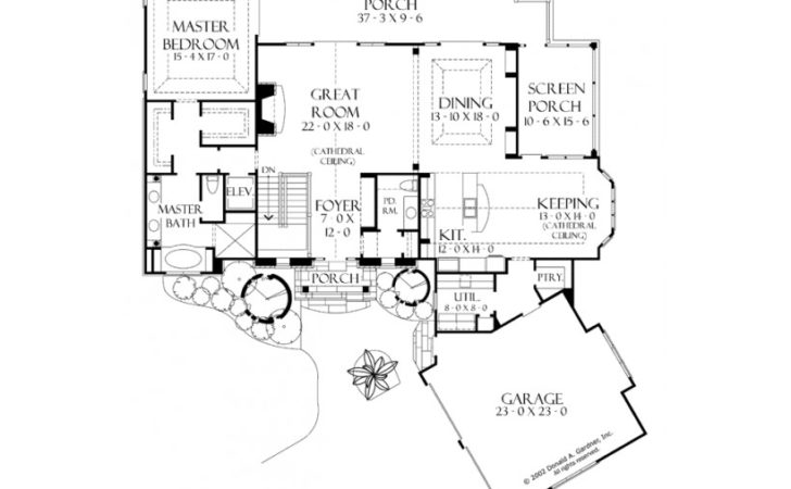 Eplans Craftsman House Plan Walkout Basement