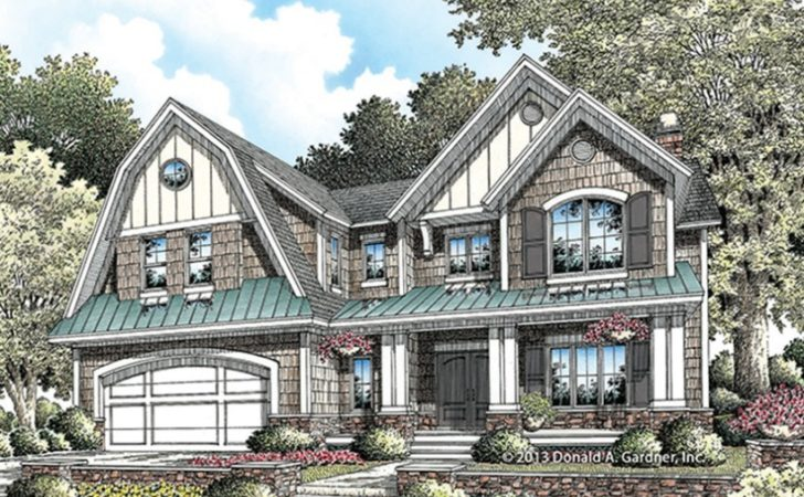 Eplans Dutch Colonial House Plan Perfectly Lovely