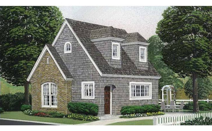 Eplans English Cottage House Plan One Bedroom