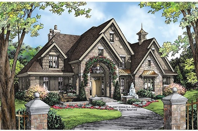 Eplans European House Plan Square Feet