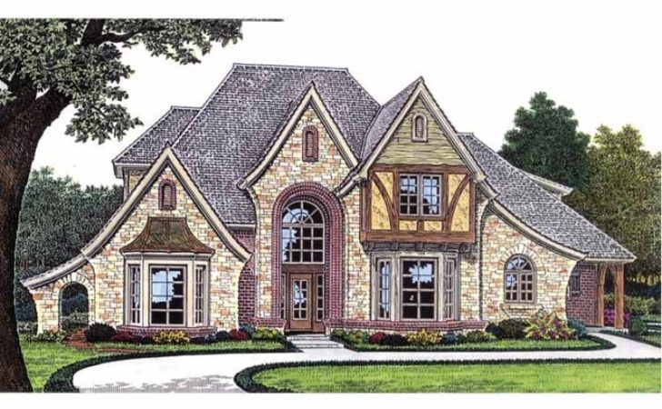 Eplans French Country House Plan Amenity Filled European