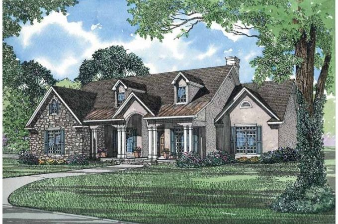 Eplans French Country House Plan European Styling
