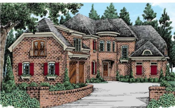 Eplans French Country House Plan Luxurious European