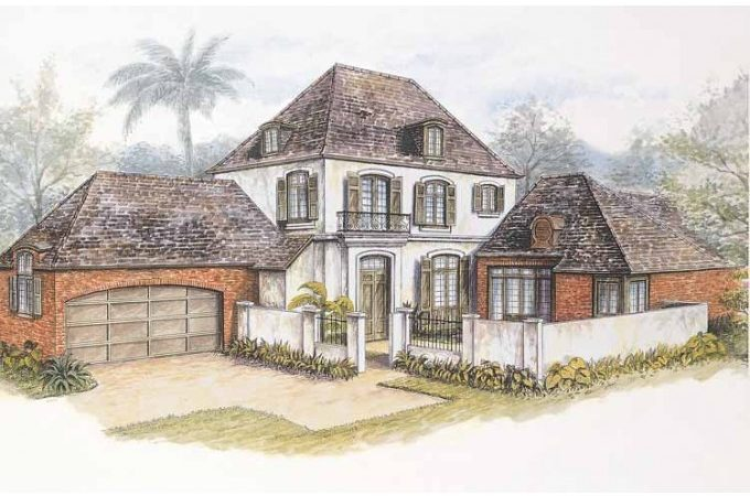 Eplans French Country House Plan New Orleans