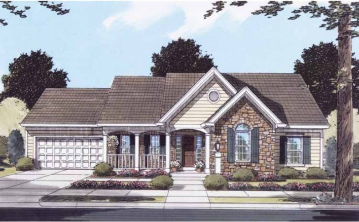 Eplans French Country House Plan One Story Convenience