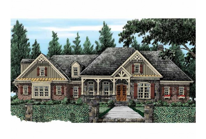 Eplans French Country House Plan Sprawling European