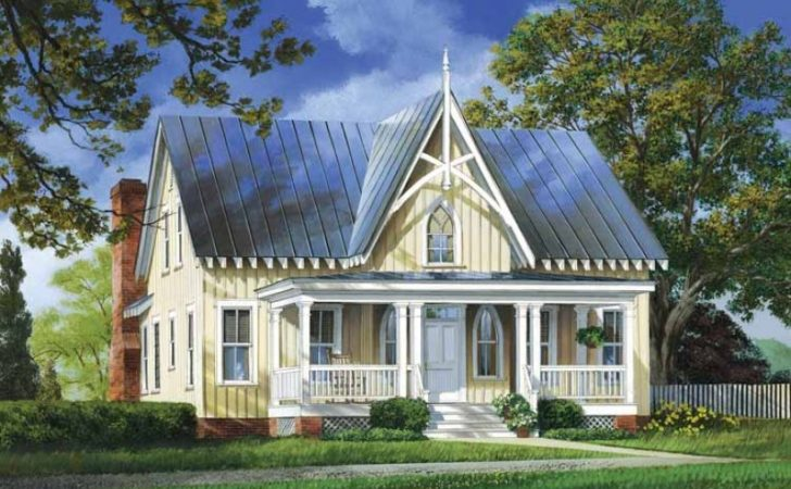 Eplans Gothic Revival House Plan Strawberry Hill