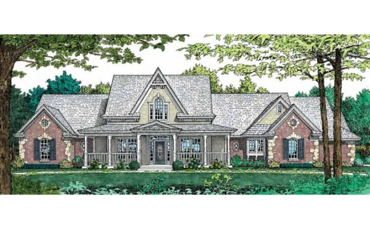 Eplans Gothic Revival House Plan Traditional Country