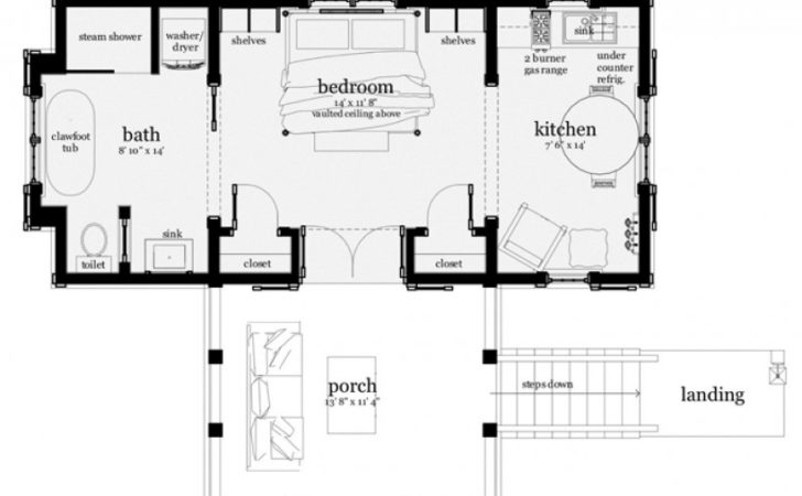 Eplans Low Country House Plan Coastal Escape