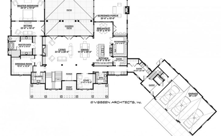 Eplans Low Country House Plan Design