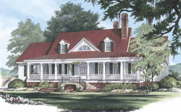 Eplans Low Country House Plan Edgewater Square