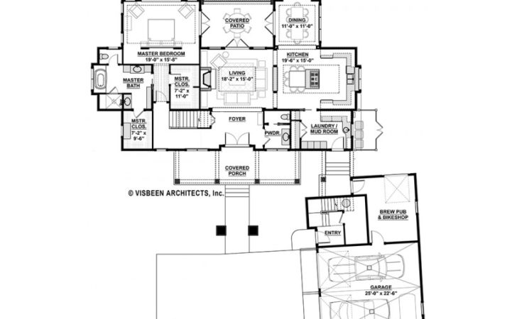 Eplans Low Country House Plan Efficiently Design