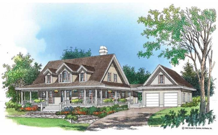 Eplans Low Country House Plan Good Nature Square